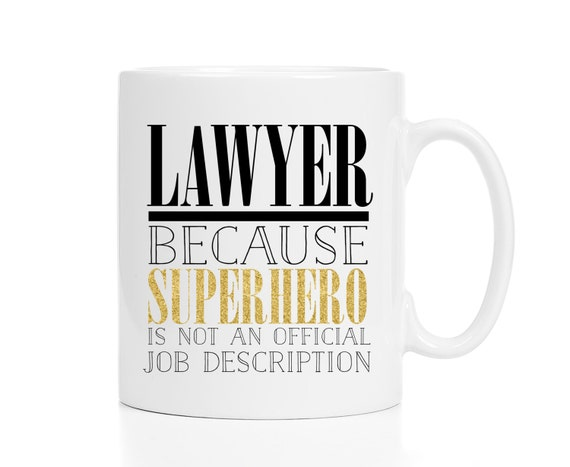 Lawyer Mug  Mug For Lawyer  Attorney Gift  Gift For Lawyer