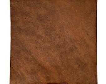 Brown Leather / Mottled Brown Leather / Brown Leather Fabric / Brownish Red Leather / Brown Red Leather / Genuine Leather
