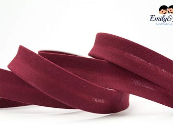 bias tape wine red, bias binding