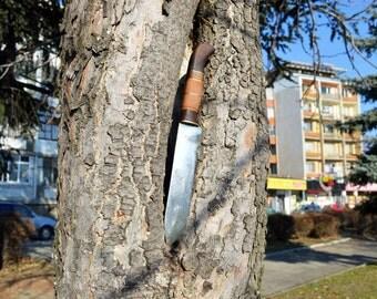 Damascus knife Kitchen knife Handmade knife Chef knife Camping knife Butcher knife Paring knife Hand forged knife Vegetable knife