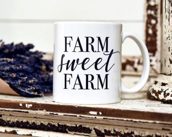 FARM SWEET FARM Coffee Mug