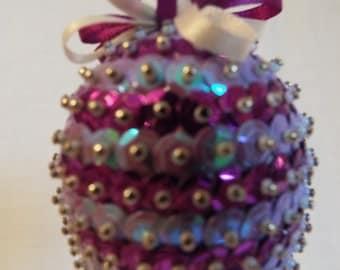 Handmade Sequin Bauble
