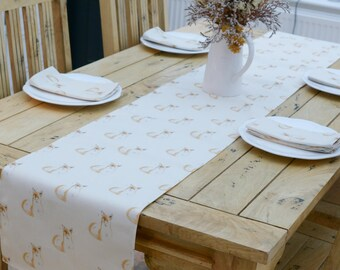 Fox Table Runner