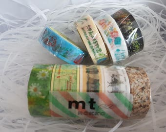 Japanese Limited Washi Tape MT Rokko Washi Tape set