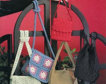 Nylon Cord Purses Crochet purses Crochet bags Crochet for summer Bag for spring