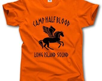 Camp Half Blood Long Island Sound t-shirt Greek Mythology Pegasus Percy Jackson