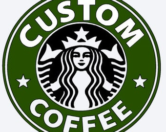 svg Custom starbucks svg, create your own svg, starbucks svg, custom printable iron on decal, ...