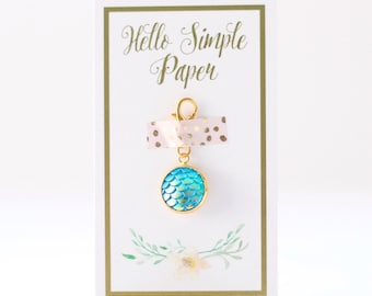 Sea Blue | Mermaid Planner Charm