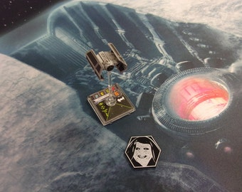Star Wars X-Wing Compatible Emperor Token