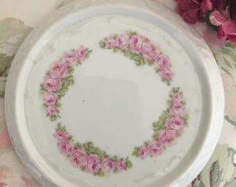Vintage Glass/Ceramic Shabby Chic Kitchen Trivet