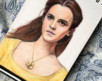 Belle / Emma Watson ( Beauty and the beast prints )