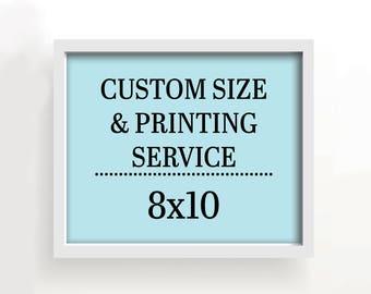 8x10 art print - custom printing services