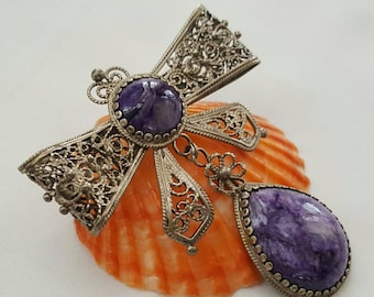 Vintage Bow Pin