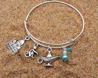 Disney Aladdin Jasmine Charm Bracelet