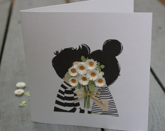 Cute Love Card for Girlfriend // Anniversary Card for Wife // Romantic Birthday Card // Funny Valentines Day Card