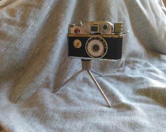 Kkw camera lighter, table lighter, 50's novelty lighter, Japan lighter,