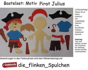 Motif pirate Julius - to the tinkering itself
