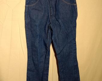 Vintage men's Wrangler denim jeans pants 34 x 31