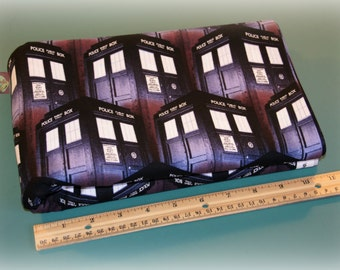 2 Yards Springs Creative Doctor Who Tardis Cotton Fabric NEW