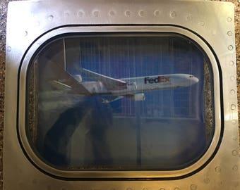 MD-11 in flight