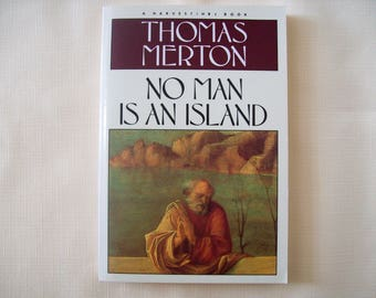 No Man Is An Island Thomas Merton Paperback 1983