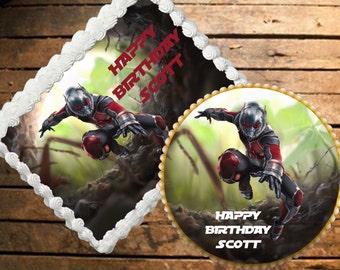 Ant-Man Edible Cake Topper