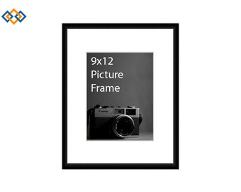 9x12 Picture Frame Etsy