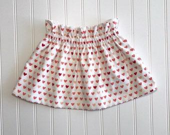 Sweetheart Skirt Handmade High Waisted