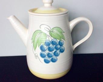 Franciscan Fruit (Large Fruit) Coffee Pot