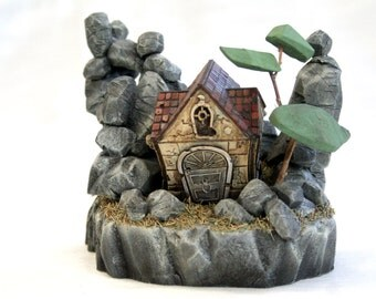 Zomlings House Diorama