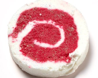Peppermint Candy Cane Bubble Bar (With Calamine)