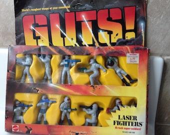 Mattel GUTS Laser Fighters Action Figures Boxed set of 10 ~ 4190