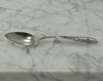 Sterling Silver Spoon from Buenos Aries