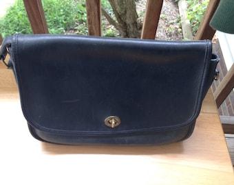 Vintage Coach bag distressed