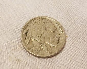 1935 Buffalo indian Nickel good condition