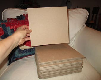 Chipboard, 8x8 squares, FULL Medium Flat Rate Box