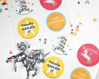 Confidence Stickers for Winners - Adulting Stickers