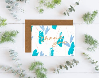 Thank You Notecard Set - Pack of 3, Thank you cards, Thank you card set, Notecard Set, Thank you notecards