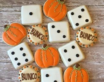 Holiday Bunco Cookies (1 dozen)