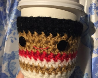 Moana Crochet Coffee Cozy Disney