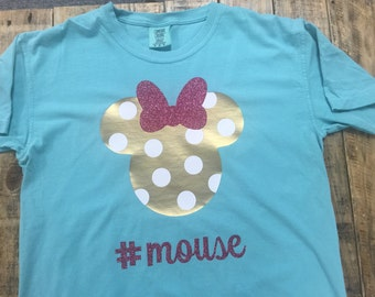 Personalized Comfort Colors Disney Minnie Mouse Shirt