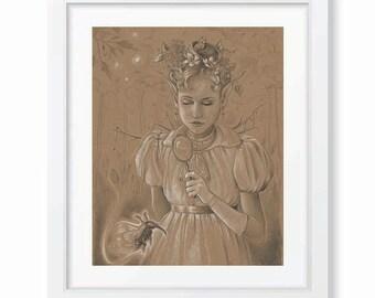 Original artwork: Fairy ''Curiositas''