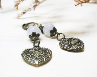 Rainbow Moonstone Earrings Moonstone Earrings Gemstone Earrings Dangle Earrings Fertility Jewelry Crystal Jewelry Romantic Earrings