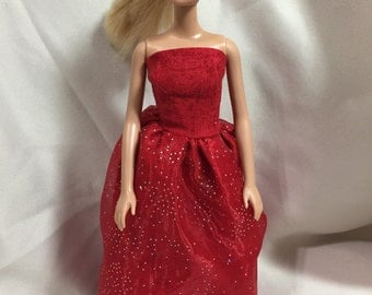 Be My Valentine Barbie Clothes Set: Outfit #4/Evening Gown and Purse