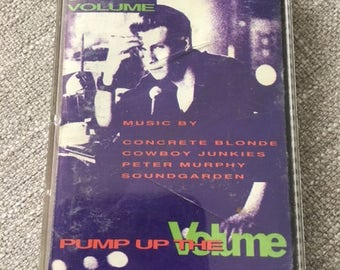 Pump Up The Volume Soundtrack Cassette Tape