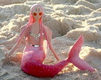 Pink Mermaid - OOAK
