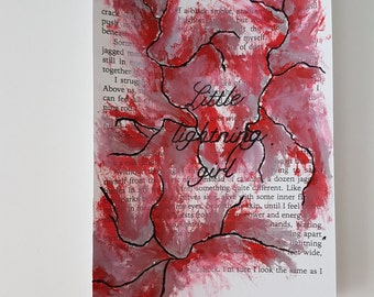 Red queen - Painted pages