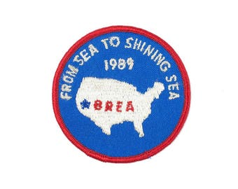 From Sea to Shining Sea- Brea Vintage Patch