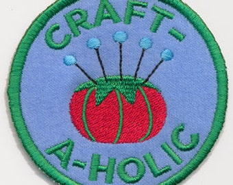 Crafty Merit Badges - Craft-A-Holic