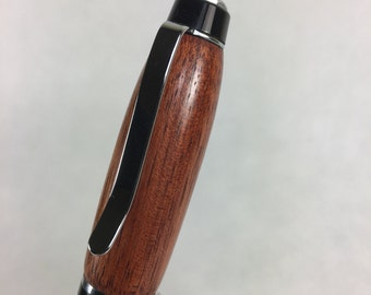 Cigar Pen - Bloodwood with Chrome Hardware